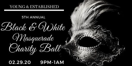 5th Annual Black & White Masquerade Charity Ball