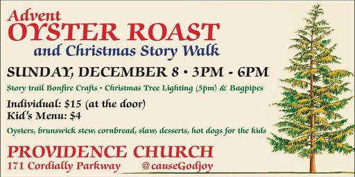 Advent Oyster Roast and Christmas Story Trail