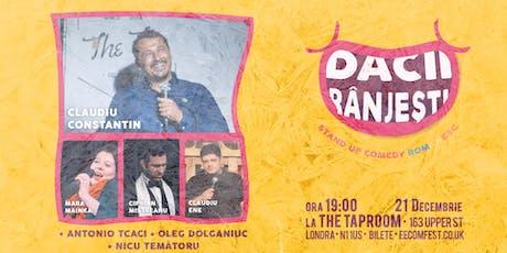 Dacii Rânjești  - Stand up Comedy Românesc - 21 Decembrie tickets