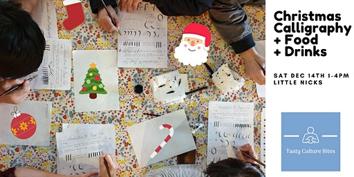 Modern Calligraphy Lunch & Learn - Christmas Edition