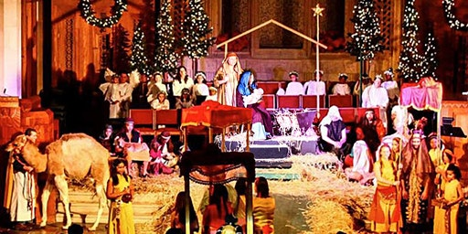 Live Animal Christmas Nativity Pageant