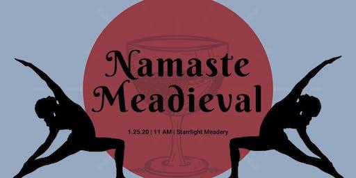 Namaste Meadieval: Yoga + Mead at Starrlight Meadery