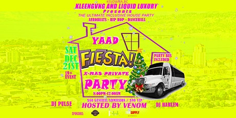Yaad Fiesta X-mas Private Party tickets