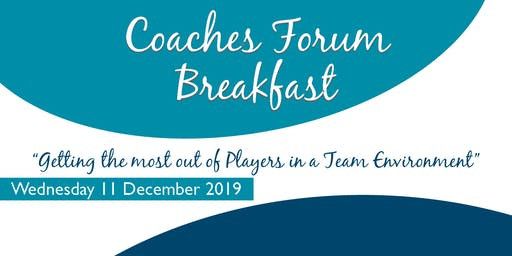 Coaches Breakfast Forum