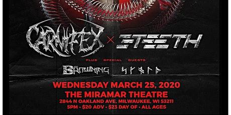 CARNIFEX / 3TEETH: META X TOUR
