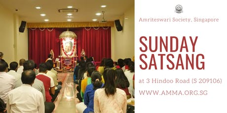 Sunday Satsang tickets