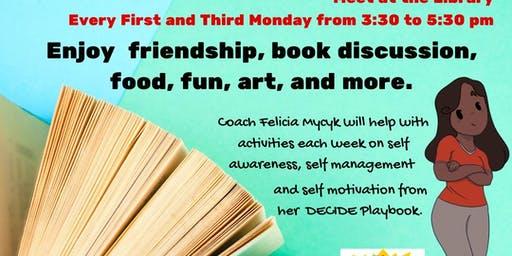 Teen Reading Lounge with Coach Mycyk
