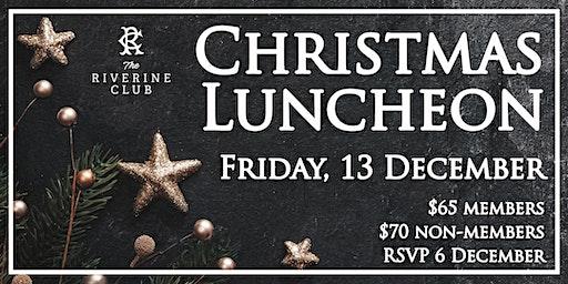 Riverine Club Christmas Lunch