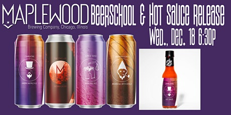 Maplewood Brewing BeerSchool and Hot Sauce Release tickets