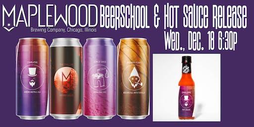 Maplewood Brewing BeerSchool and Hot Sauce Release