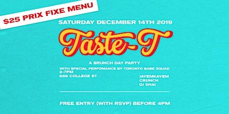 Taste-T Brunch Day Party tickets