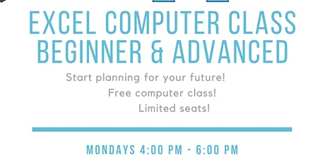 Free Computer Excel Class tickets