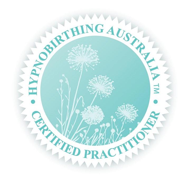 Hypnobirthing Australia group course - 10th & 11th April 2021 - SYDNEY image
