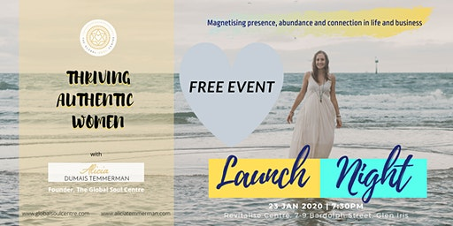 Launch Night - Thriving Authentic Women Melbourne