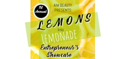 AIM BEAUTY Presents: Lemons Into Lemonade! tickets