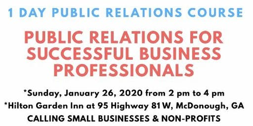 Public Relations for Successful Business Professionals