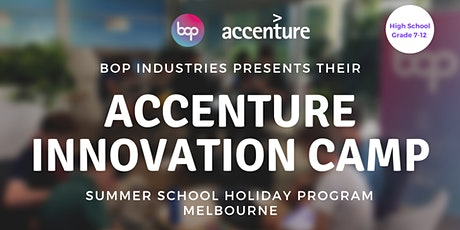 Accenture Innovation Camp - High School tickets