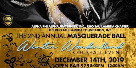 The 2nd Annual Masquerade Ball: Winter Wonderland tickets