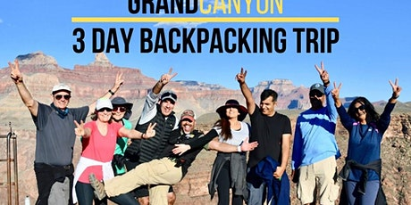 3 Day Grand Canyon Backpacking Trip - October 2020 tickets