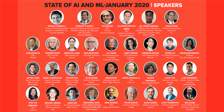 State of AI and ML-January 2020 tickets