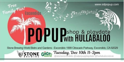 Holiday PopUp Shop & PlayDate with Hullabaloo!