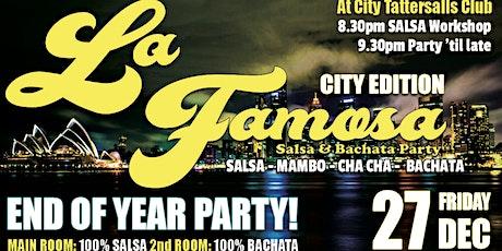 La Famosa Party - Salsa & Bachata - City Edition FRI 27 DEC tickets