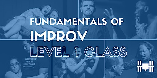 Class: Level 1 - Fundamentals of Long Form Improv (Mondays 8-10pm; 9 weeks)