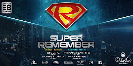 SUPER REMEMBER 2020 entradas