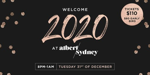 New Years Eve at Albert and Sydney Brunswick with  DJ Charlie Buzz!