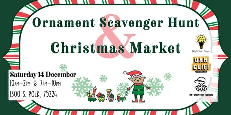 Ornament Scavenger Hunt & Christmas Market tickets
