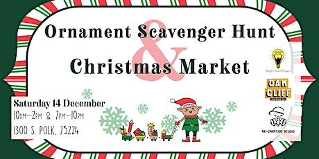 Ornament Scavenger Hunt & Christmas Market tickets