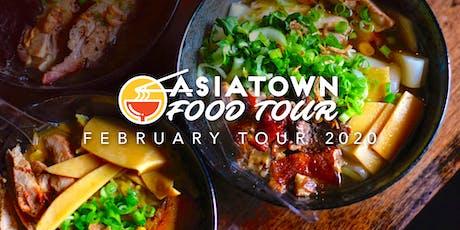Asiatown Food Tour | February 2020 Tour tickets
