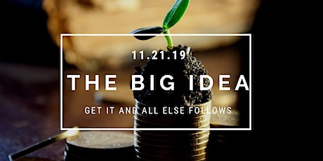 The Big Idea (when it comes to chronic health issues) tickets