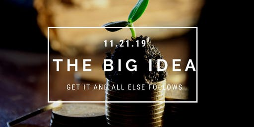 The Big Idea (when it comes to chronic health issues)