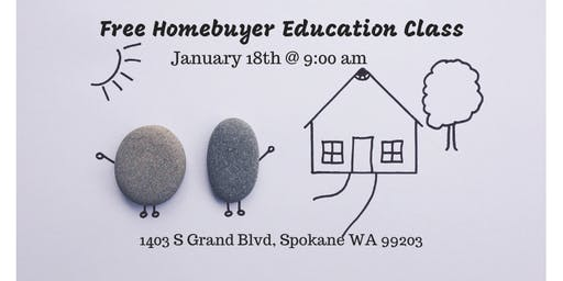 Free First Time Homebuying class