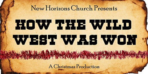 How The Wild West Was Won Christmas Production