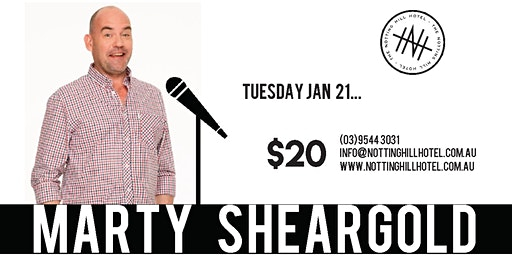 Comedy @ NHH - MARTY SHEARGOLD - Tuesday 21st January