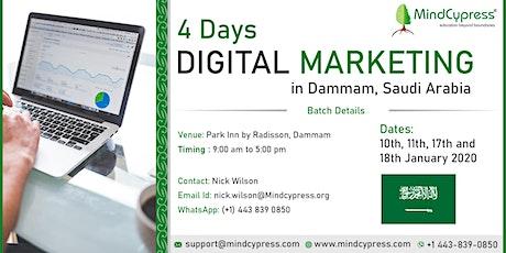 Digital Marketing 4 Days Training by MindCypress at Dammam tickets