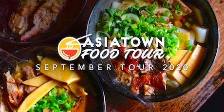 Asiatown Food Tour | September 2020 Tour tickets