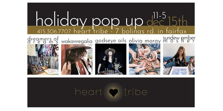 heart tribe holiday pop up! tickets