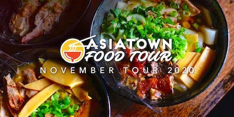 Asiatown Food Tour | November 2020 Tour tickets