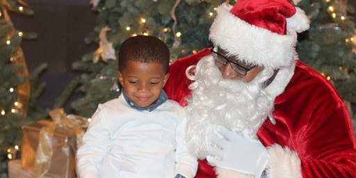 BMO- Pictures with Black Santa, Food, Games and Cookie Decorating