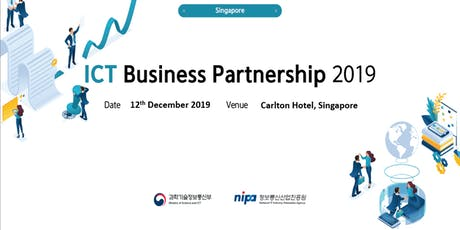 Singapore - Korea ICT Business Partnership 2019 tickets