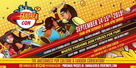 Fangaea 2020 - The Awesomest Pop Culture and Fandom Convention tickets