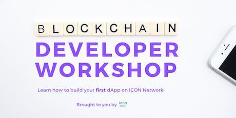 ICON Blockchain Developer Workshop tickets