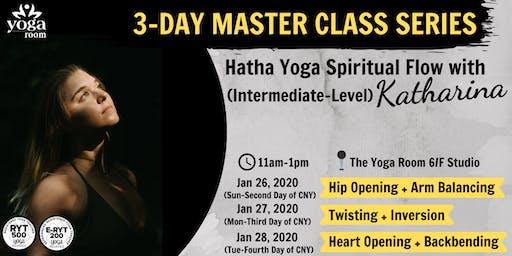 3-Day Master Class Series: Hatha Yoga Spiritual Flow with Katharina