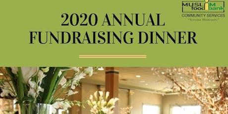MFBCS Fundraising Dinner 2020 tickets