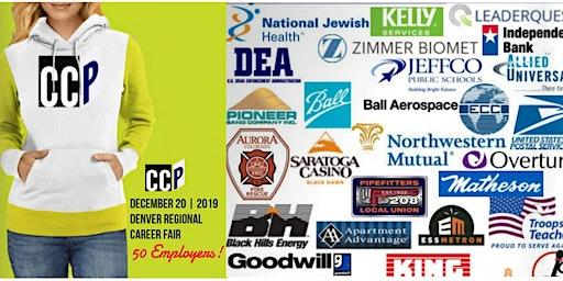 December 20 CCP Denver Regional Career Fair