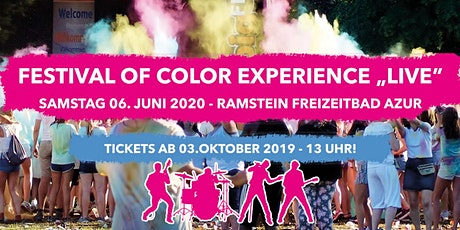 Festival of Color Experience Live Tickets