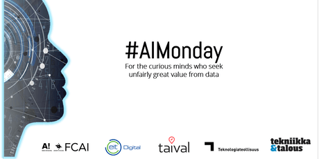 """AI Monday Networking event - """"Fake news, Fake data"""" tickets"""
